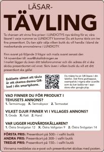 Lokaltidningen Lund Läsar-tävling